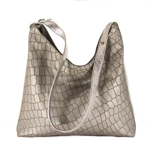 Metallic hobo bag-0785