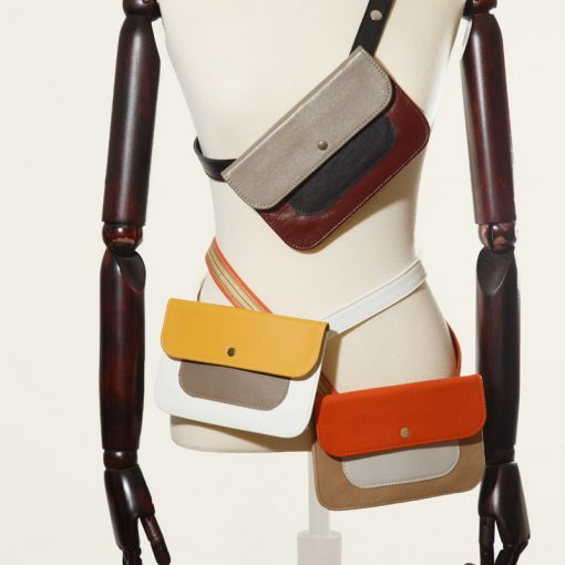 Belt bags for hands free living